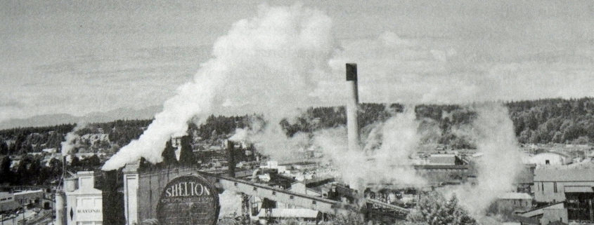 Sawmills in Shelton, Washington