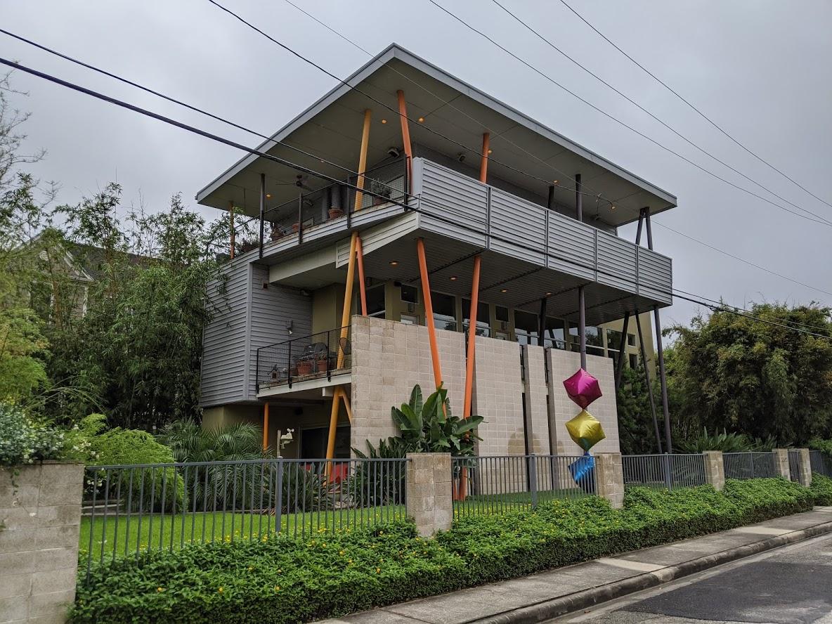 Architecturally unique house near midtown Houston