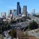 Seattle traffic congestion seen from Rizal Park