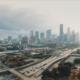 Aerial view of Houston, Texas