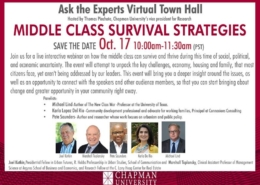 Middle Class Survival Strategies