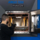 Industrial scale 3D printing