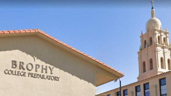 Private All-Boys Arizona Catholic School Segregated Students Based on Race