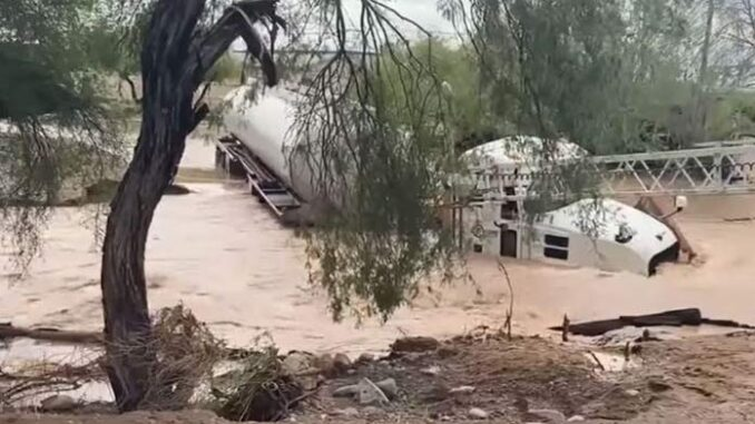 Gila Bend Devasted By Deadly Flooding With More Rain In Forecast