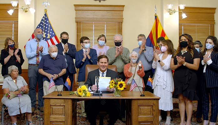 Ducey Signs Bill To Strengthen Holocaust Education In K-12 Schools