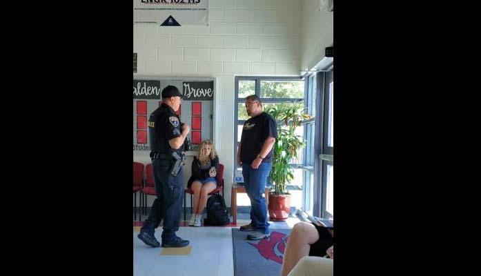 Teenager, Parents Arrested for Trespassing After Violating School's Quarantine