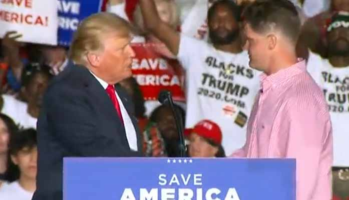 Marine Who Saved Kabul Airport Baby Now In Arizona Investigated For Speaking At Trump Rally