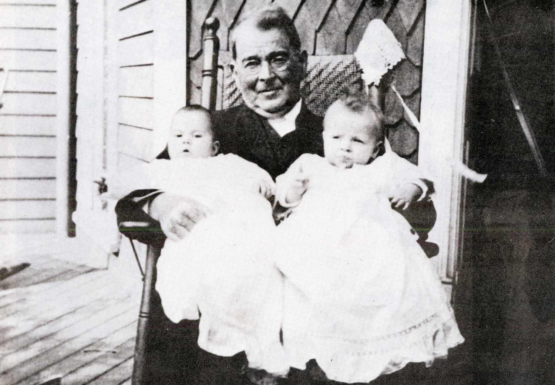 Patterson, James G. - At Baptism of Grandchildren - c.1916