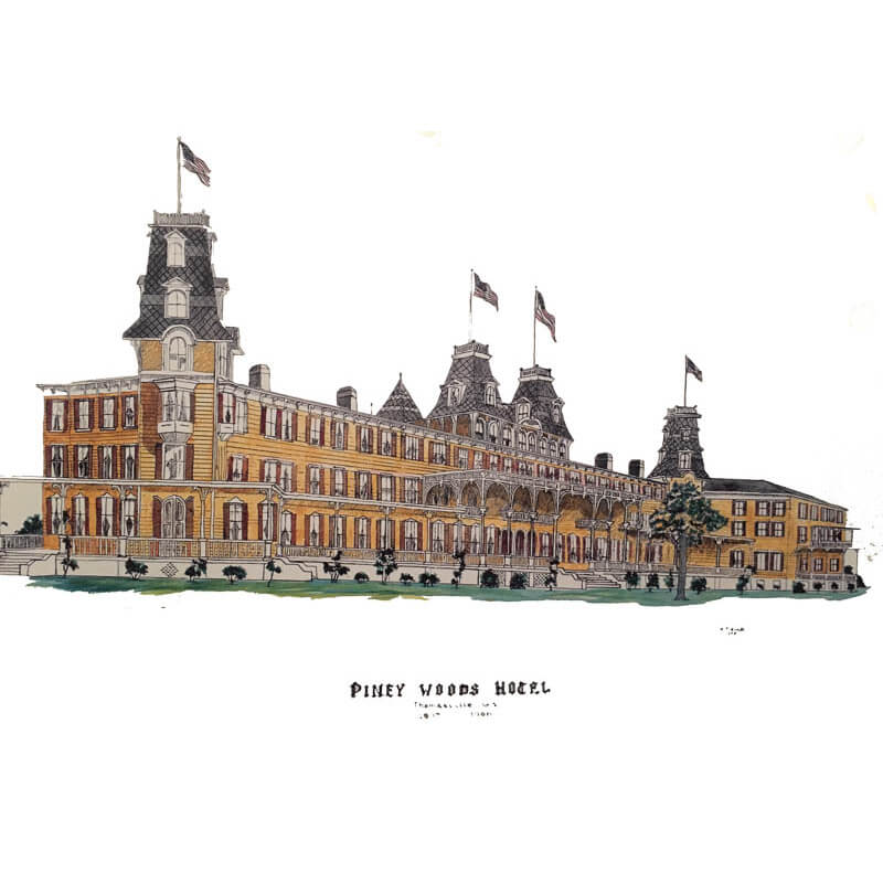 Piney-Woods-Hotel-Poster-Co