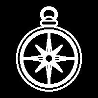 compass white transparent