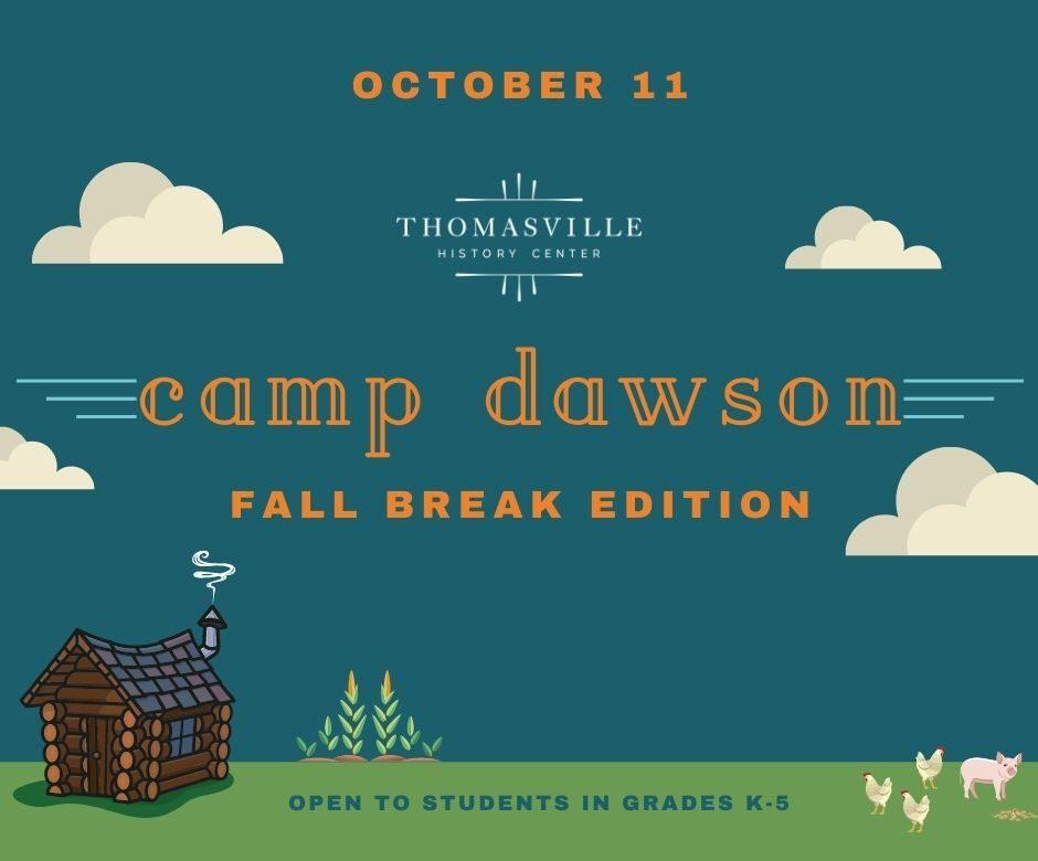 camp dawson fall break_w date 2021 web event