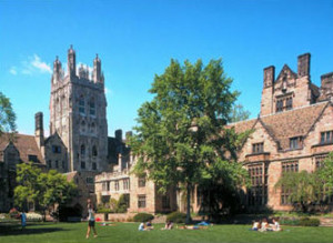 Photo of Yale University where we accept or take the employee dental insurance