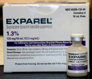Exparel reduces need for opioid pain medications like oxycodone and hydrocodone after wisdom teeth extractions