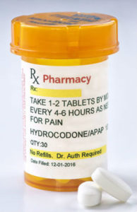 Vicodin prescribed after oral surgery in Orange, CT