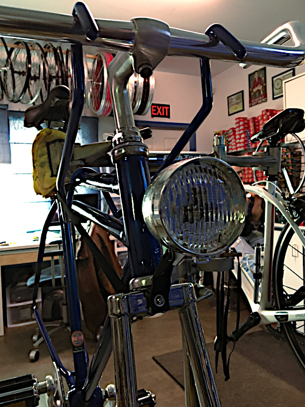 1928 Hercules frames used to build classic road bicycle
