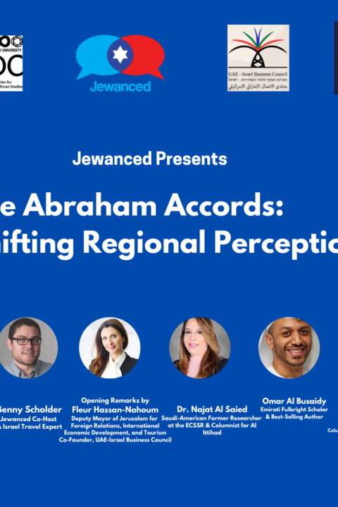 Episode #17 – The Abraham Accords: Shifting Regional Perspectives