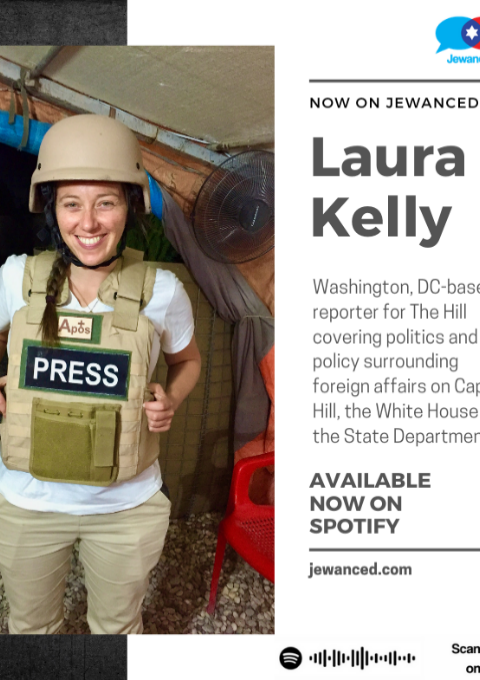 Episode #31 – Laura Kelly, D.C. based foreign policy reporter for The Hill, covering Capitol Hill & the White House