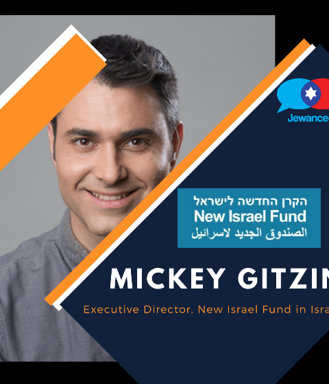 Episode #38 – Mickey Gitzin, Executive Director of the New Israel Fund in Israel