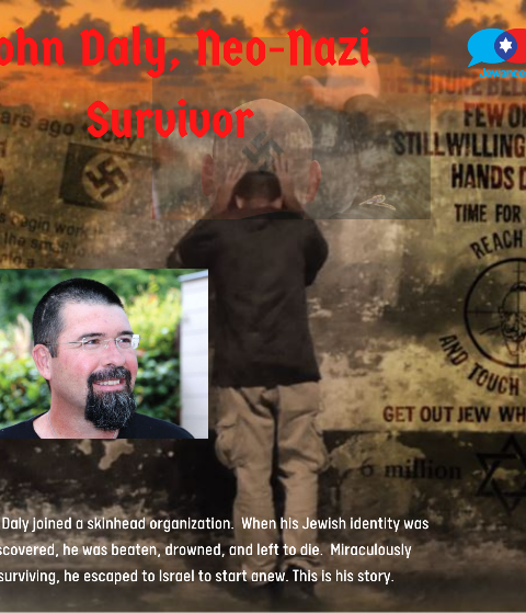 Episode #40 – John Daly, Jewish former skinhead & Neo-Nazi survivor