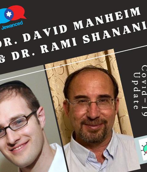 Episode #52 – Dr. David Manheim & Dr. Rami Shanani: Covid-19 Update Show