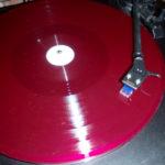 red vinyl LP