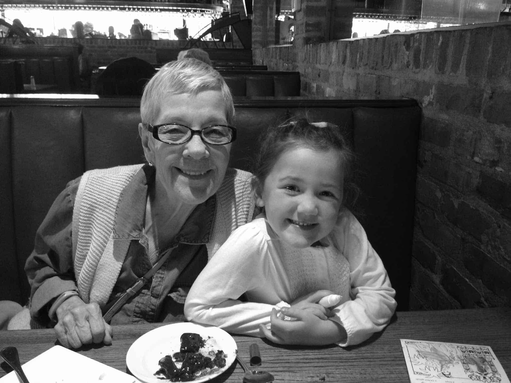 Cindy with granddaughter