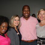 Kenya Henderson, Loree Elswick, Justin Perry, and Kirsten Sikkelee