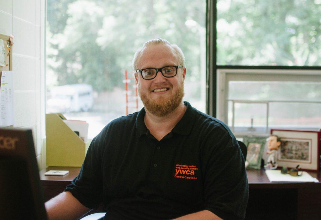 Jeff Nerret at Desk