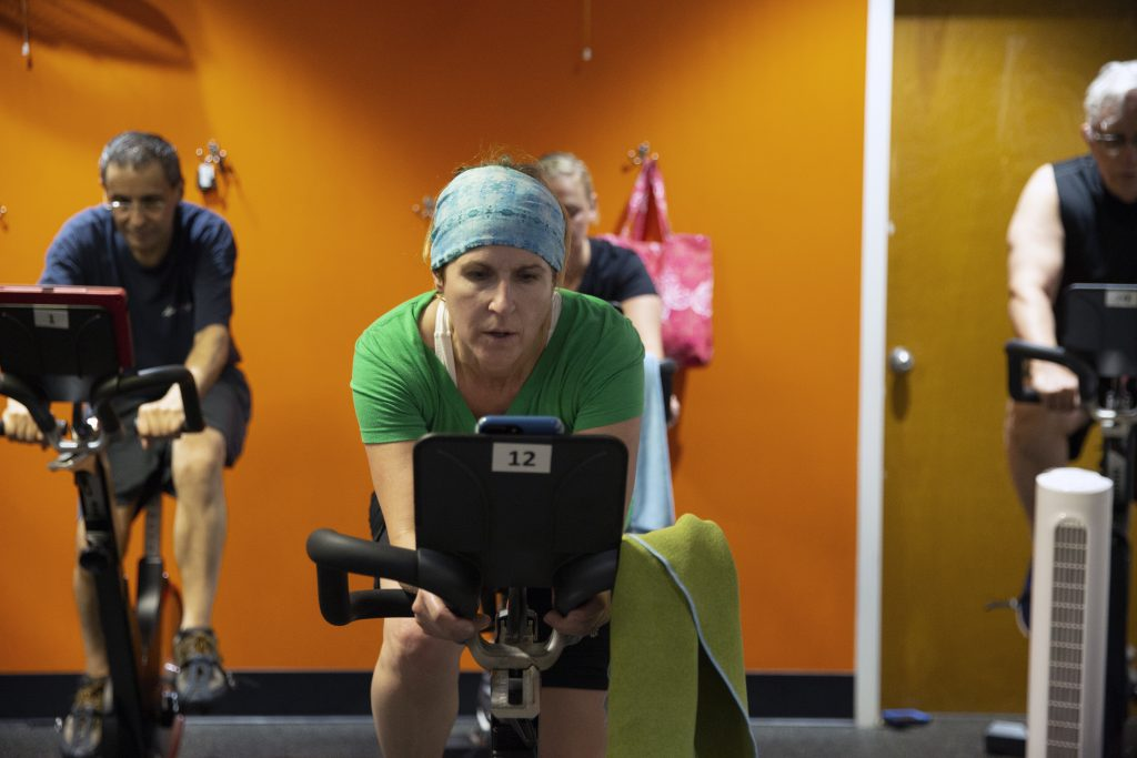 Spin, Cycle Class, Group Exercise Class, Gym, Co-Ed Gym, Exercise
