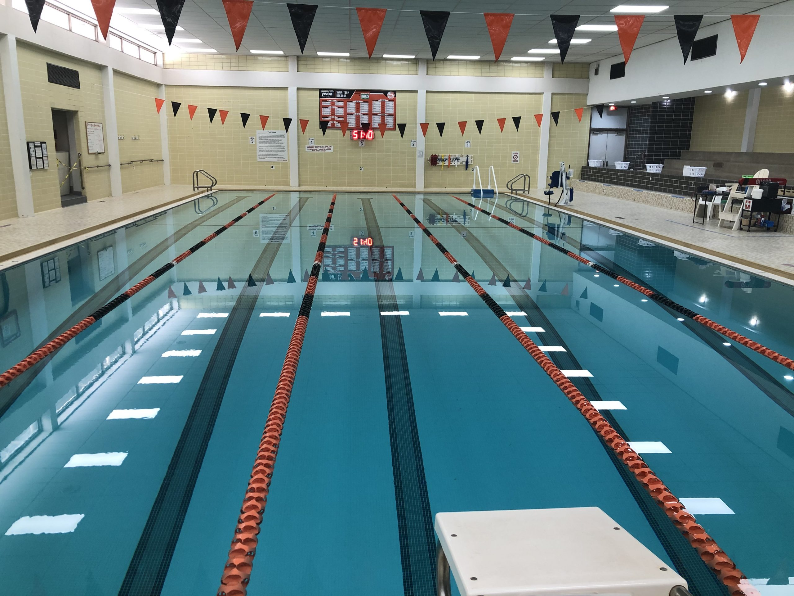 COVID19, social distancing, fitness center, YWCA, gym, co-ed gym, workout, indoor pool, swim
