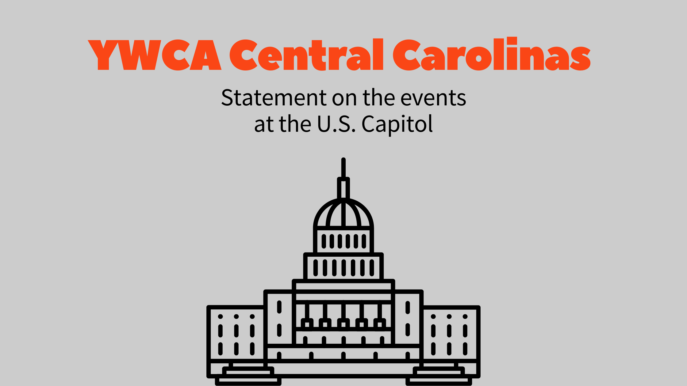 Read more about the article YWCA Central Carolinas condemns domestic terrorism at the US Capitol