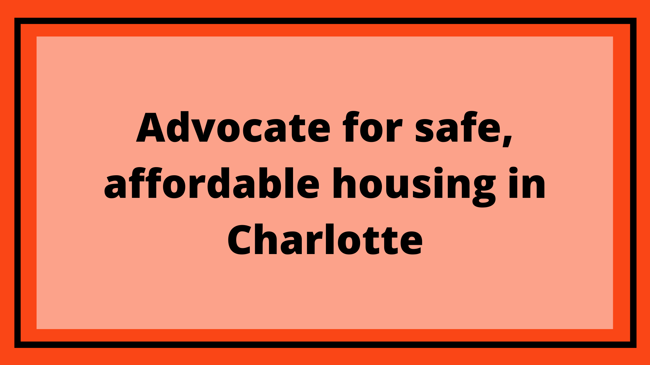 End Source of Income Discrimination in Charlotte
