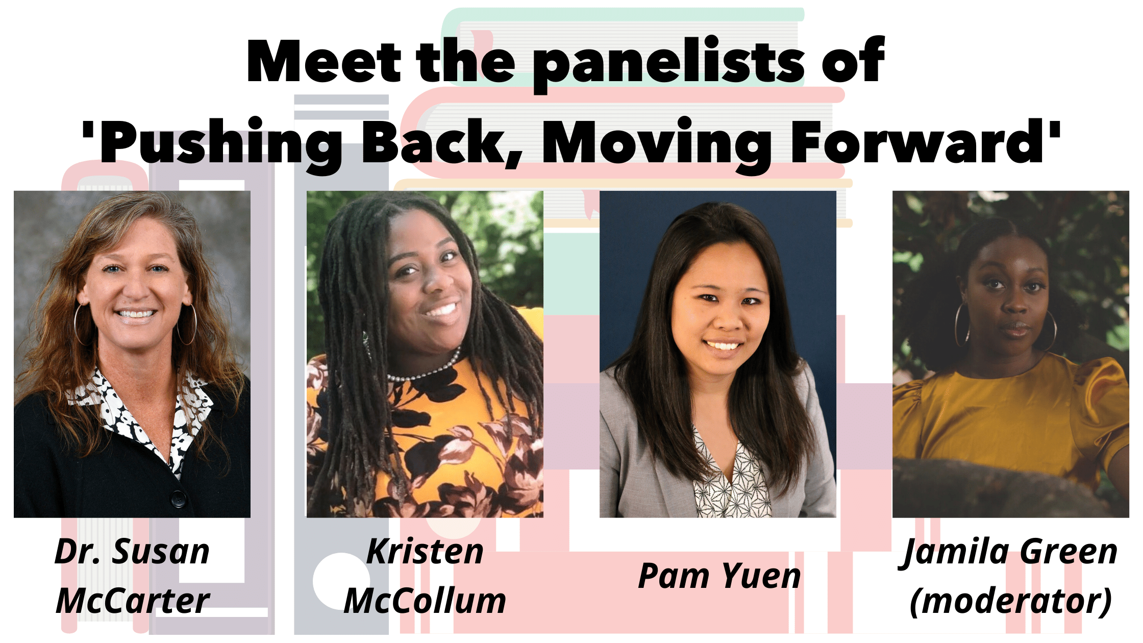 Read more about the article Meet YWCA's 'Pushing Back, Moving Forward' Panelists