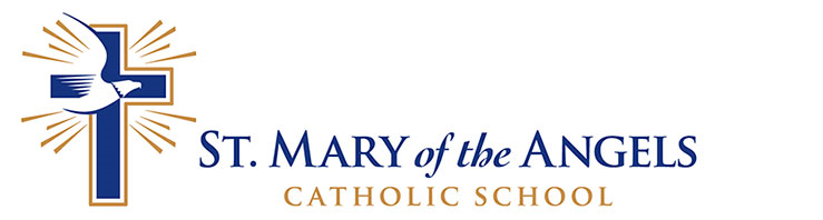 Logo for St. Mary of the Angels Catholic School