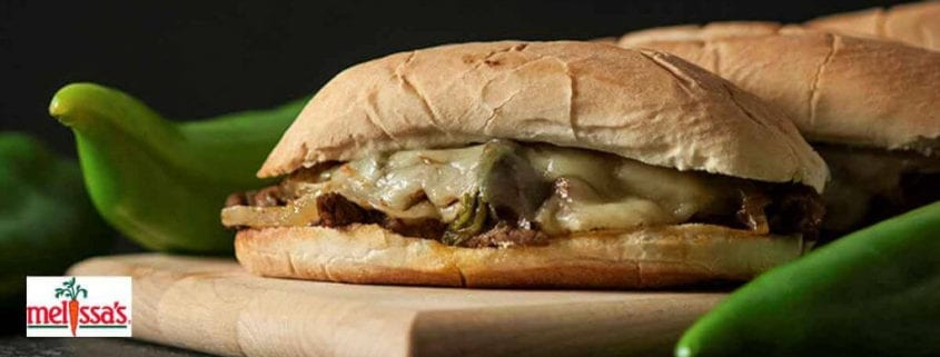 Melissa's Hatch Steak Sandwich