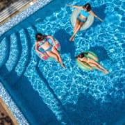 Enjoying Your Pool Six Feet Apart