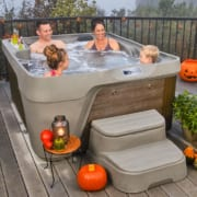A Tricked Out Tub for Halloween