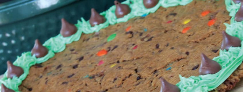 Candy Cookie Cake