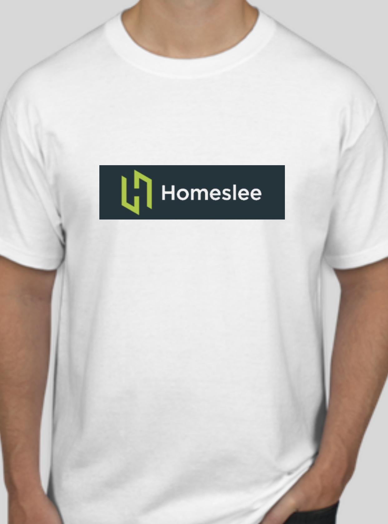 Latest company logo tee.