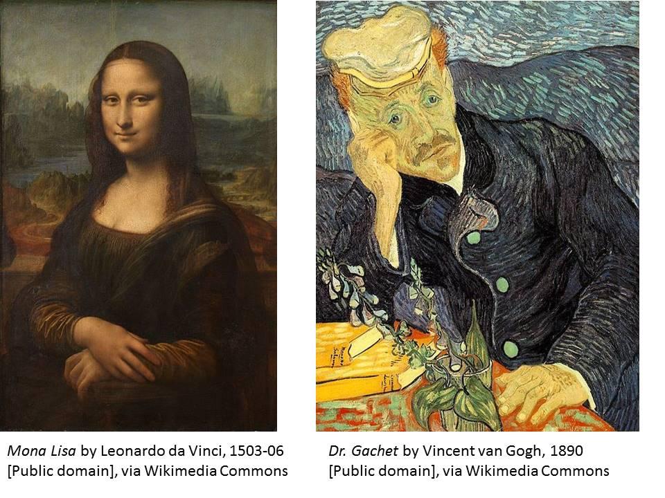 Leonardo and Van Gogh
