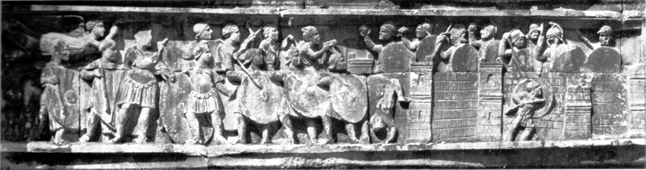 Arch of Constantine relief sculpture
