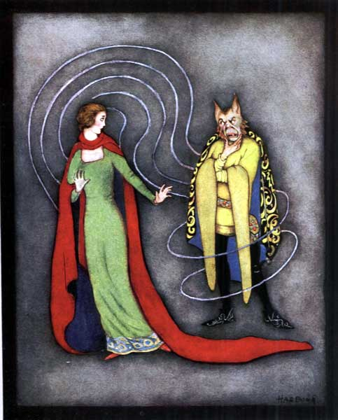 illustration for Beauty and the Beast