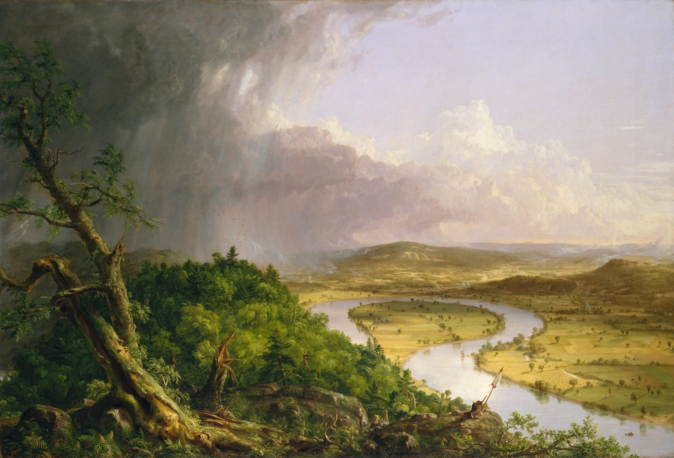 Painting of Nature by Thomas Cle