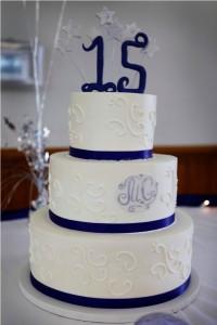 Quinceañeras Birthday Cake