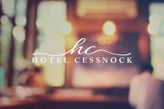 Hotel Cessnock Logo Design