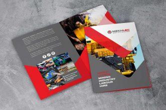 Mechlec Brochure Design