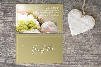 Yeng Tan Business Card Design
