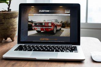 Full Throttle Garage Website