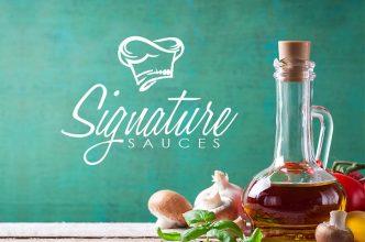 Signature Sauces Logo Design