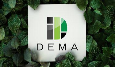 DEMA logo design Kis Marketing